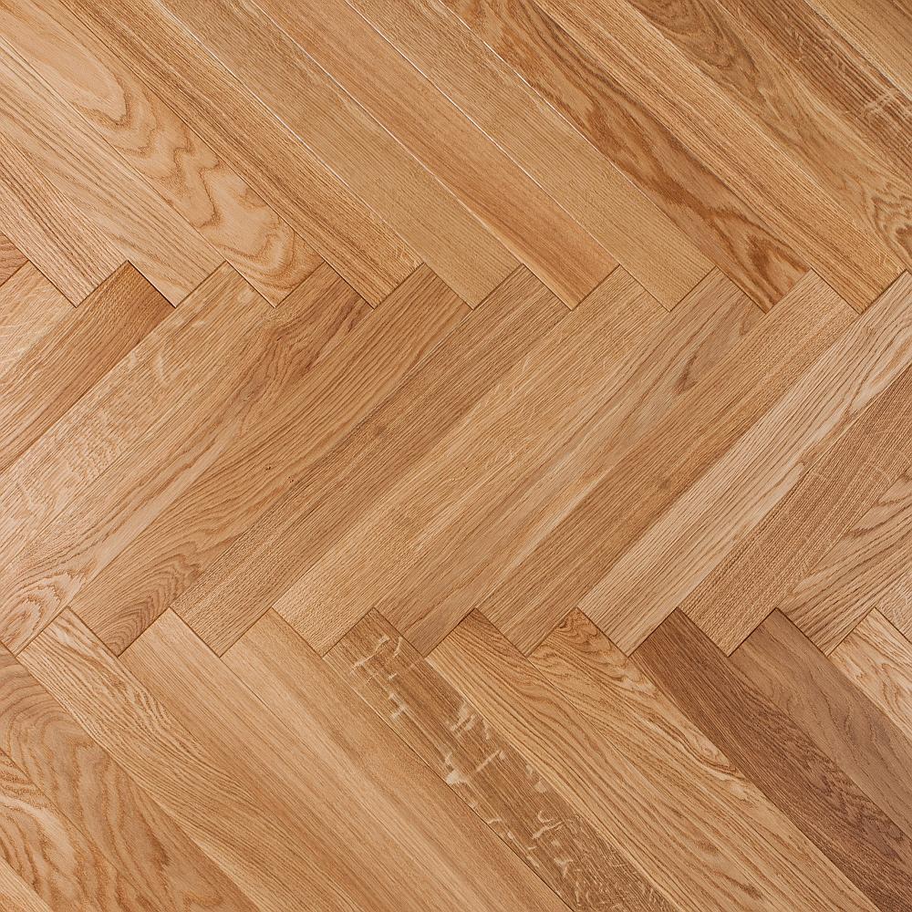 Bolero Oak Prime Brushed Waxoiled on Foxtrot Step Pattern