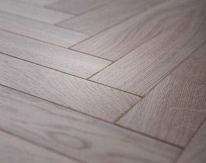 CHA CHA - Finished with White Oil beautiful real oak flooring