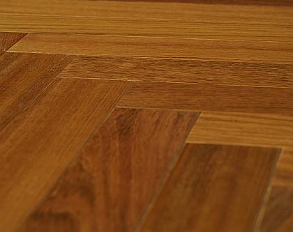 SAMBA - Exotic Jatoba Parquet sealed with clear oil